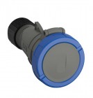2CMA101142R1000 Easy & Safe Series, IP67 Blue Cable Mount 2P+E Industrial Power Socket, Rated At 32A