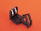 BATTERY HOLDER, PC/BASE MOUNT PP3 SIZE, 1 CELL, OPEN STYLE