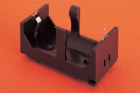 BATTERY HOLDER, PANEL MOUNT SIZE D, 1 CELL, OPEN STYLE