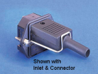 IEC CONNECTORS ACCCESSORIES RETAINING CLIP