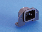 PX0580/PC IEC CONNECTOR, PC FLANGE REAR MOUNT