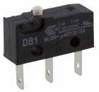 DB1C-B1AA SUB-MINIATURE SNAP-ACTION 6A T