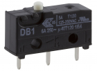 DB1C-C1AA SUB-MINIATURE SNAP-ACTION 6A P