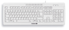 CORDED MULTIMEDIA KEYBOARD WHITE
