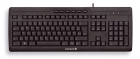 CORDED MULTIMEDIA KEYBOARD BLACK