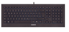 CORDED KEYBOARD BLACK