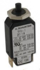 T11-211 10A T11 1 Pole Thermal Magnetic Circuit Breaker, 240V ac